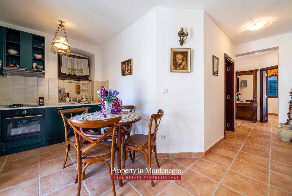 Luxury apartment for sale in Bay of Kotor