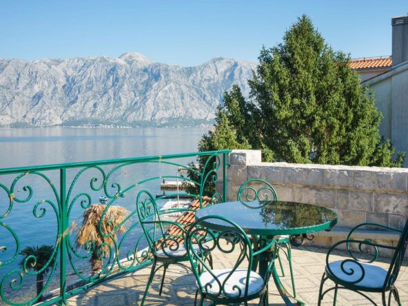 Seafront house for sale in Kotor Bay