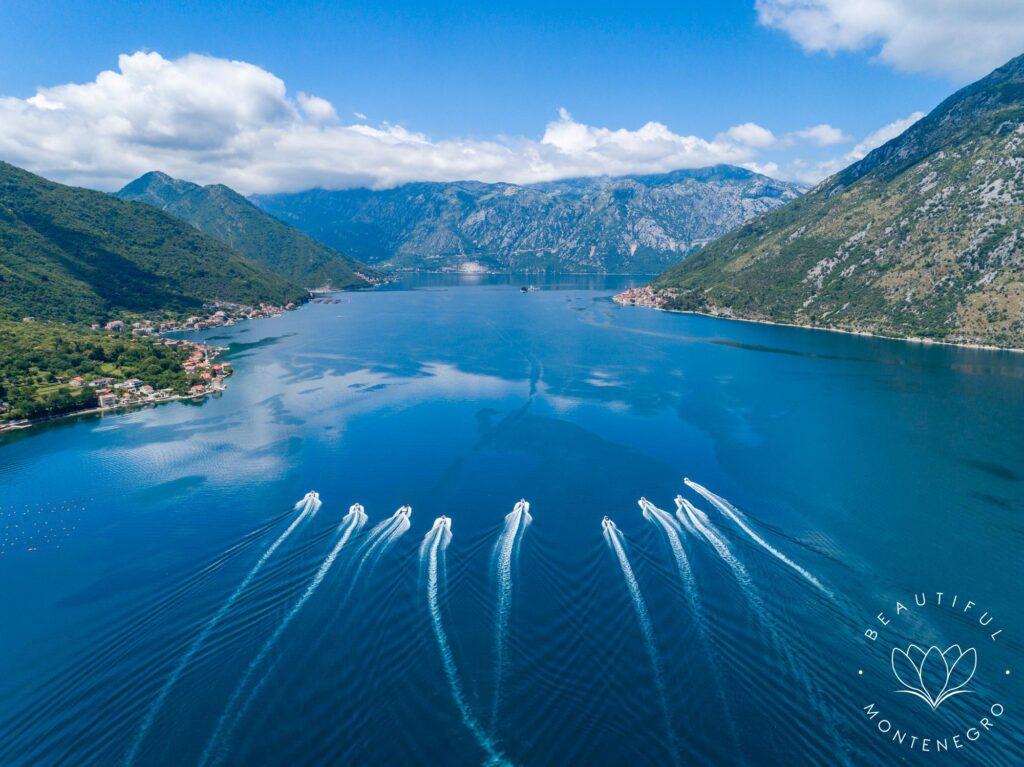 Drone photography of Kotor Bay, Visit Montenegro, Visit Montenegro