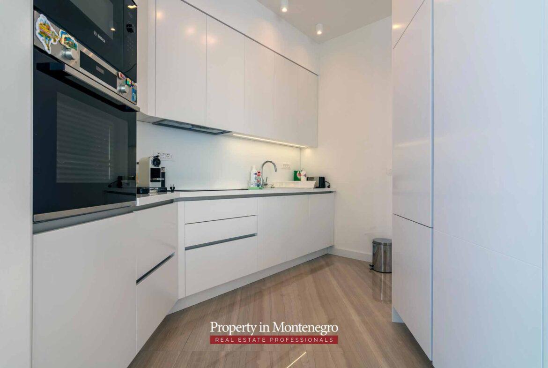 First line luxury villa for sale in Budva Riviera