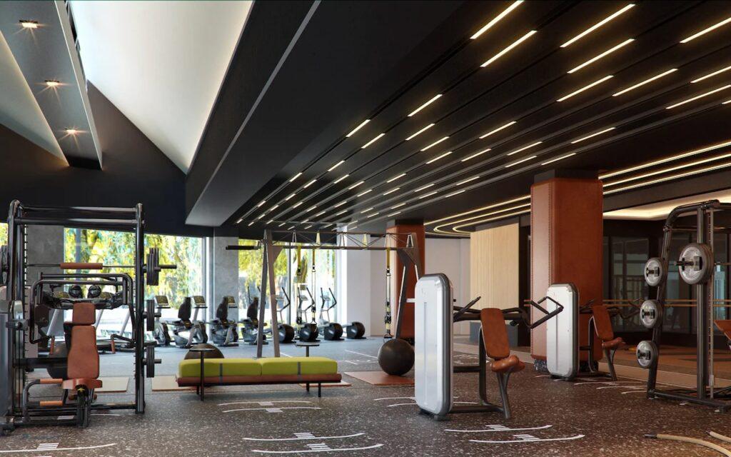 Fitness center Siro interior gym