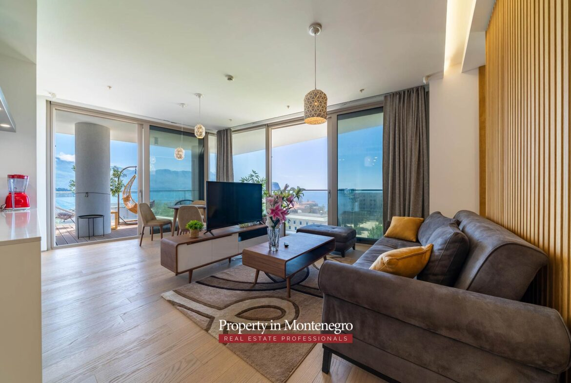 Luxury One Bedroom Apartment In The Most Attractive Location In Budva