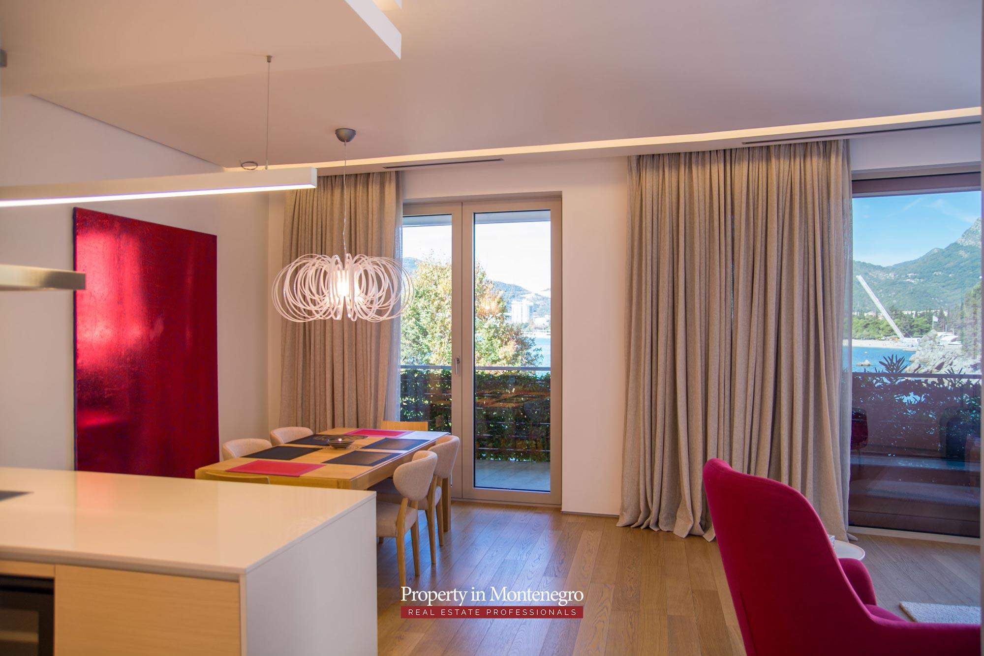 Luxury two bedroom in Budva