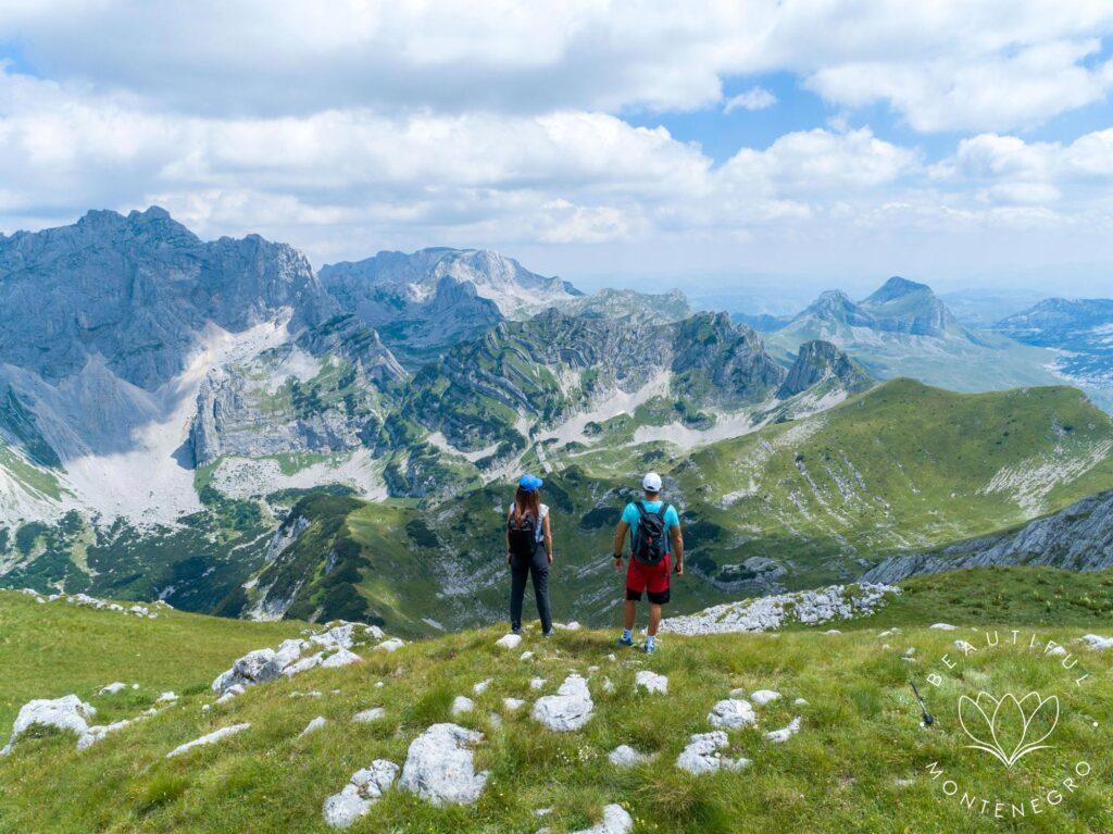 Beautiful hiking tour, Durmitor mountain