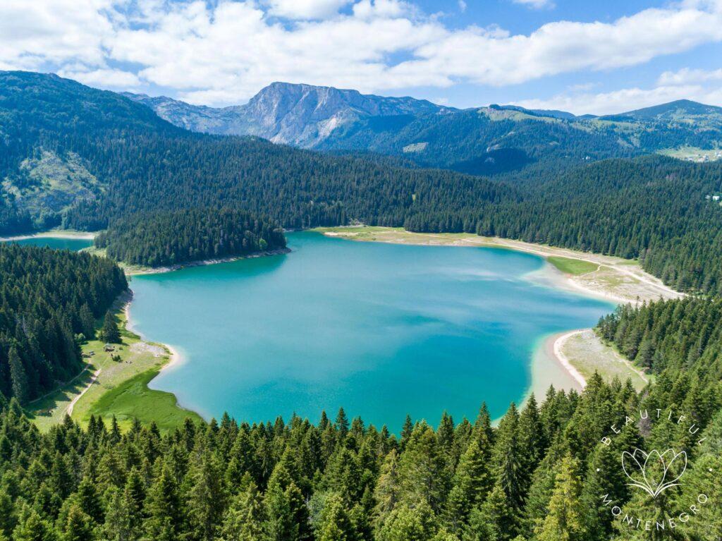 Black Lake, National Park Durmitor. Discovering Montenegero