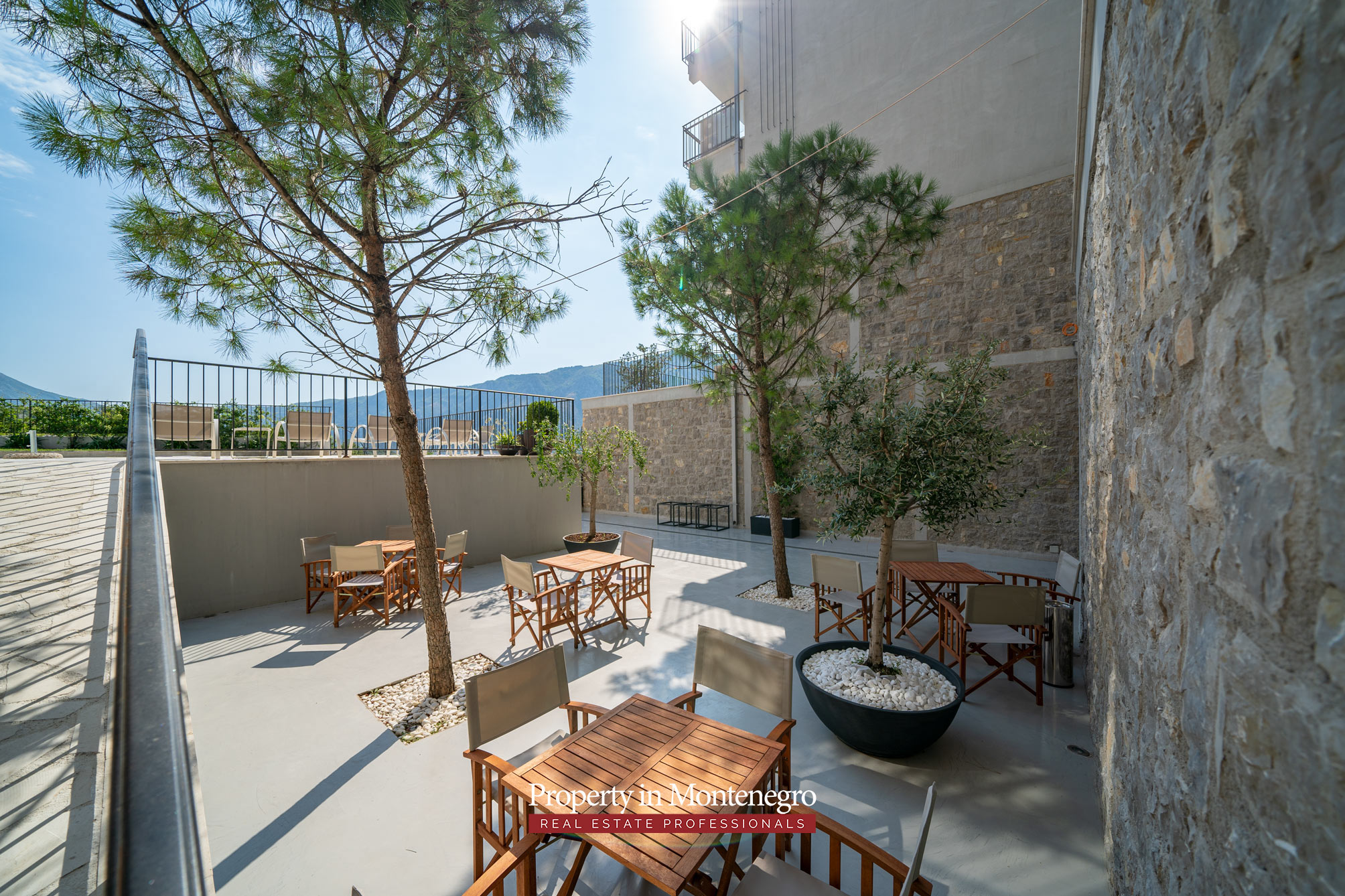 Three bedroom penthouse for sale in Bay of Kotor