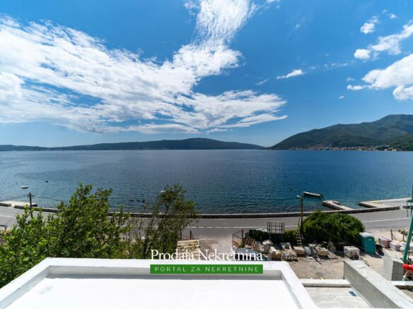 Seafront apartments for sale in Tivat Bay