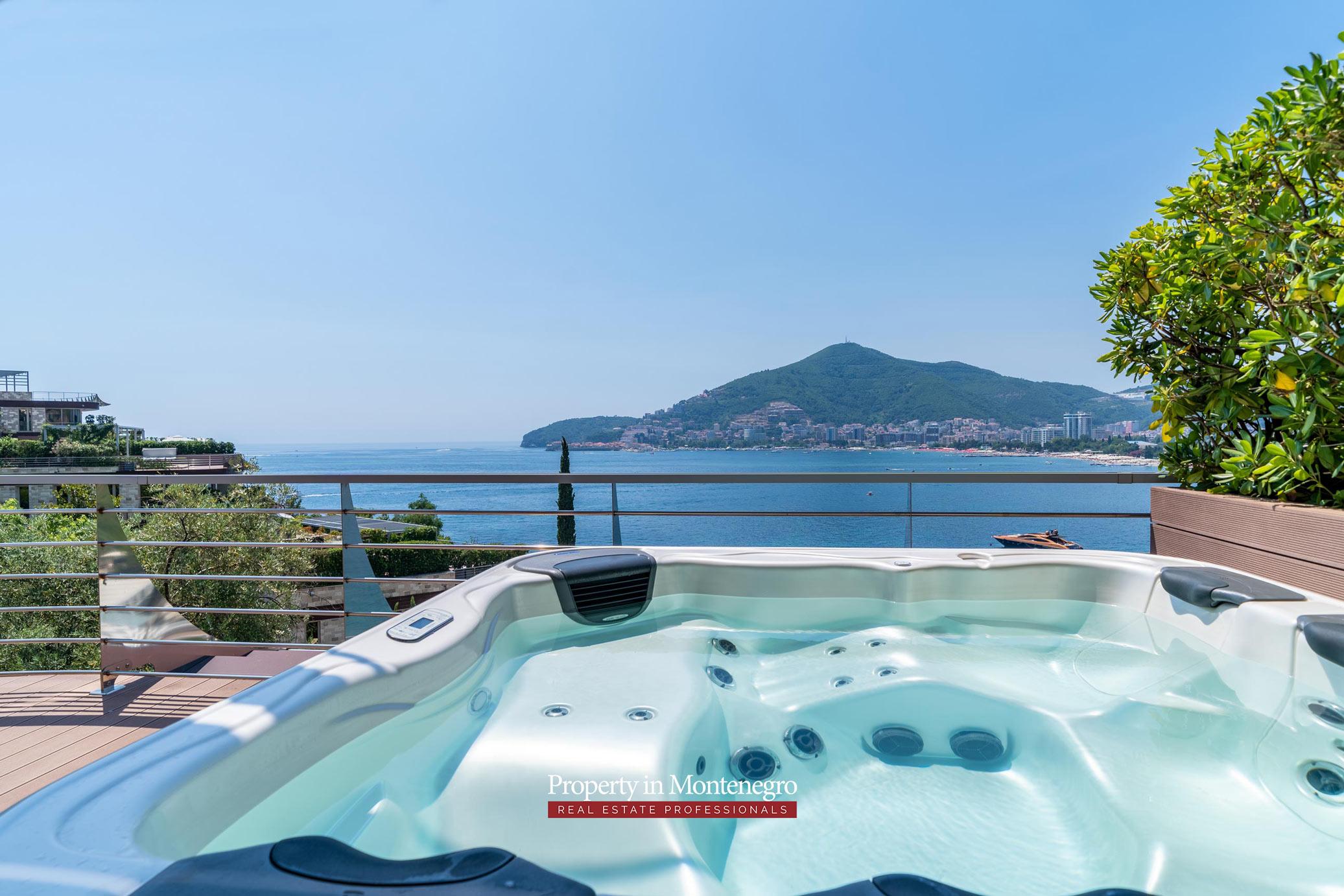 Luxury property in Budva