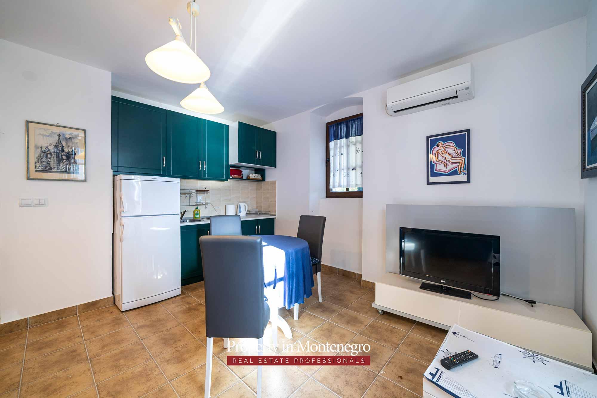 Studio apartment for sale in Bay of Kotor