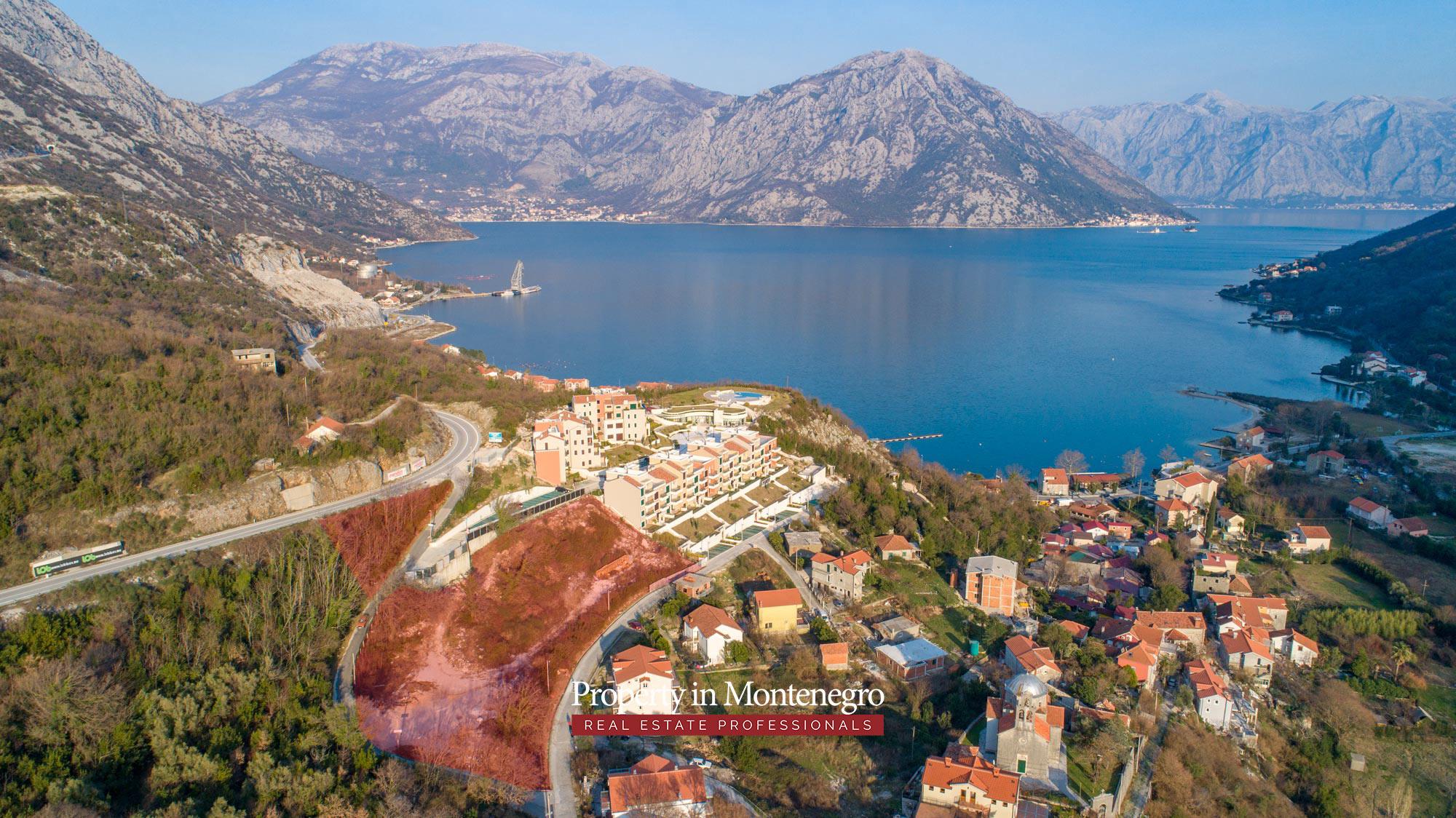 Land for sale in Bay of Kotor