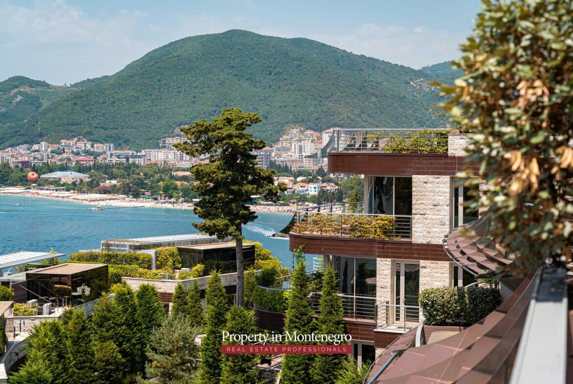 Luxury two bedroom apartment for sale in Budva