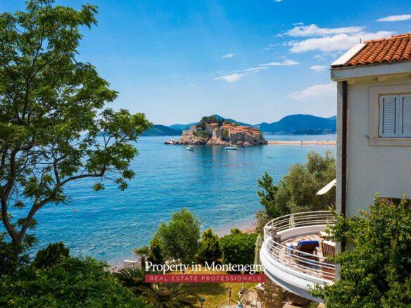 Waterfront villa for sale in Montenegro