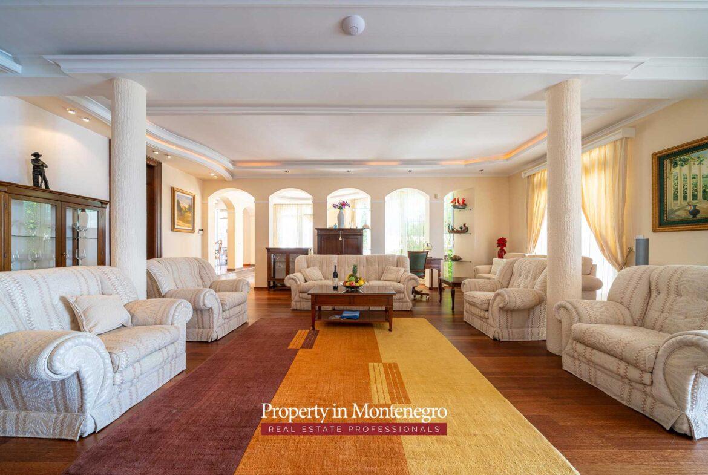 Waterfront villa for sale in Budva