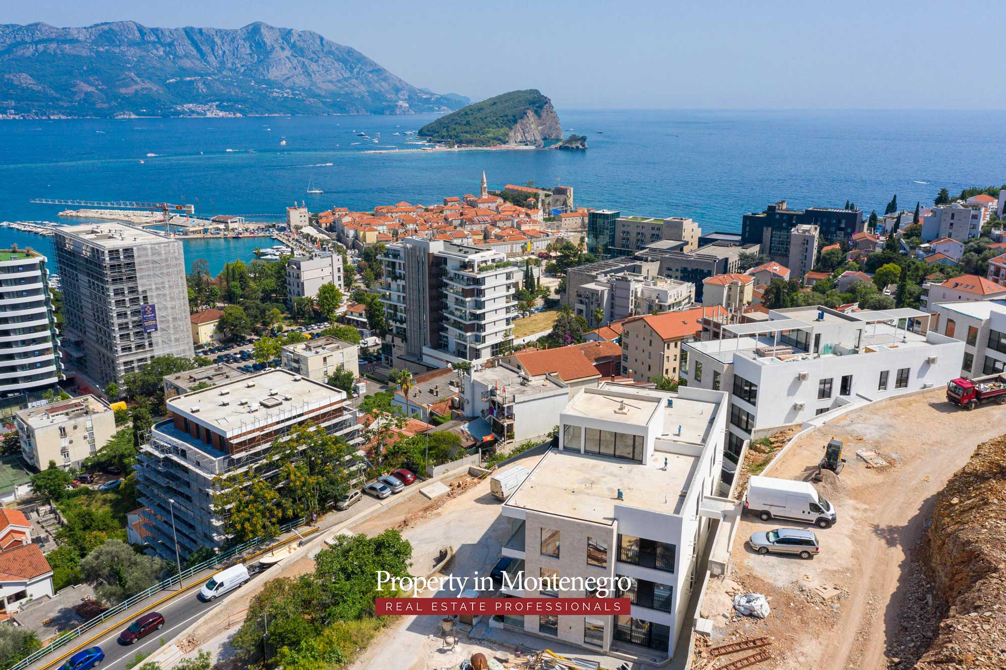 Luxury apartments for sale in Budva
