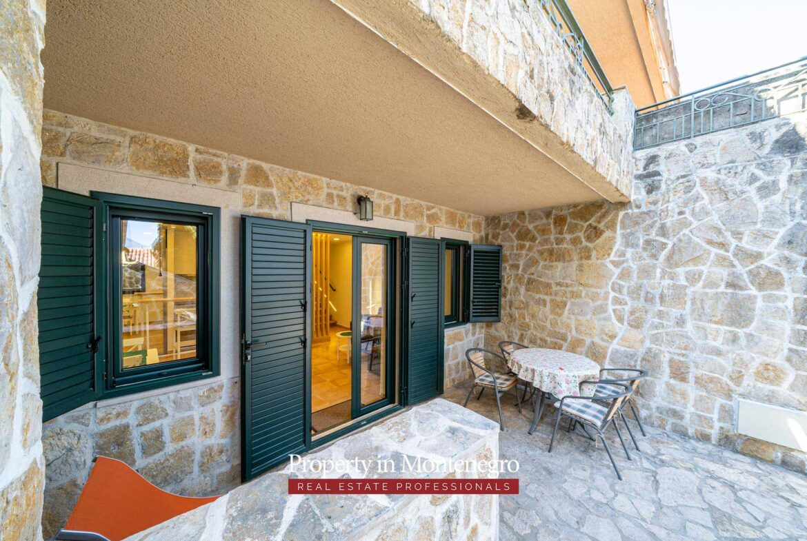 One bedroom apartment for sale in Tivat